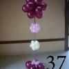 (Komp-0037) Kompositsioon õhupallidest № 37