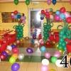 (Komp-0040) Kompositsioon õhupallidest № 40