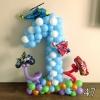 (Komp-0047) Kompositsioon õhupallidest № 47