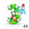 (Komp-0048) Kompositsioon õhupallidest № 48
