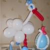 (Komp-0006) Kompositsioon õhupallidest № 6
