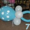 (Komp-0077) Kompositsioon õhupallidest № 77