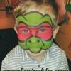 Näomaaling Ninja turtles