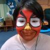 Näomaaling Angry Birds