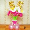 (Kimp-006) Õhupallide lillekimp 6