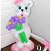 (Kimp-009) Õhupallide lillekimp 9
