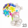(Kimp-023) Õhupallide lillekimp 023