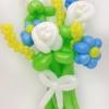 (Kimp-027) Õhupallide lillekimp 27