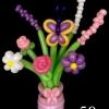 (Kimp-050) Õhupallide lillekimp 50