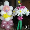 (Kimp-051) Õhupallide lillekimp 051