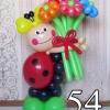 (Kimp-054) Õhupallide lillekimp 054