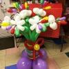 (Kimp-082) Õhupallide lillekimp 82