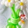 (Kimp-085) Õhupallide lillekimp 85