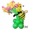 (Kimp-086) Õhupallide lillekimp 86