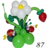 (Kimp-087) Букет из шаров 87