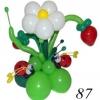 (Kimp-087) Õhupallide lillekimp 87