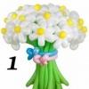 (Kimp-001) Õhupallide lillekimp 001