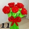 (Kimp-011) Õhupallide lillekimp 011