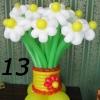 (Kimp-013) Õhupallide lillekimp 013