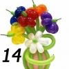 (Kimp-014) Букет из шаров 014