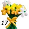 (Kimp-017) Õhupallide lillekimp 017