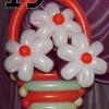 (Kimp-019) Õhupallide lillekimp 019