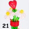 (Kimp-021) Õhupallide lillekimp 021
