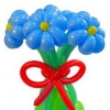 (Kimp-025) Õhupallide lillekimp 025