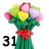 (Kimp-031) Õhupallide lillekimp 031