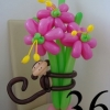 (Kimp-036) Õhupallide lillekimp 36