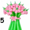 (Kimp-005) Õhupallide lillekimp 5