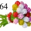 (Kimp-064) Õhupallide lillekimp 64