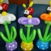(Kimp-065) Õhupallide lillekimp 65