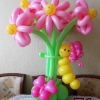 (Kimp-071) Õhupallide lillekimp 71