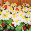 (Kimp-074) Õhupallide lillekimp 74