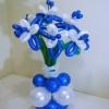 (Kimp-075) Õhupallide lillekimp 75