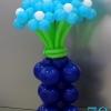 (Kimp-079) Õhupallide lillekimp 79