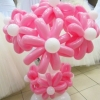 (Kimp-099) Õhupallide lillekimp 99
