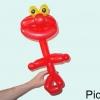 Elmo Balloon Twisting Instrucion (24)